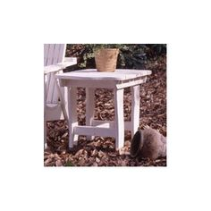 Uwharrie Companion Square Side Table Finish: Sunshine Yellow (Distressed)