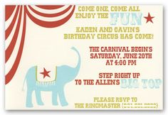 """I think I will have it say; """"Come one come all enjoy the fun. Drew and Dylan are turning ONE!"""" What do you think?"""