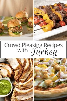 Planning a family get-together? Fire up the grill with these crowd pleasing recipes from Canadian Turkey: Turkey Sliders with Chipotle Mayo and Avocado Relish; Jerk BBQ Turkey Kebobs with Mango Salsa; Grilled Turkey Pizza with Arugula, Asiago Cheese, and Fire Roasted Tomato Pepper Sauce; and Peruvian Grilled Turkey. Visit canadianturkey.ca for these great recipes and more!