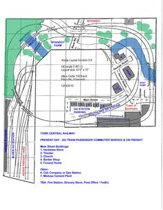 Armstrong Track Plan | Layout Progress - York Central Railway - Layouts and layout building ... Ho Trains, Model Trains, Model Railway Track Plans, Electric Train, Model Train Layouts, Australian Models, Train Tracks, Scale Models, Railroad Tracks