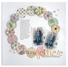 Together-Anniversary Layout