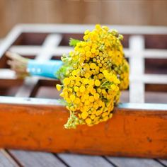 15 New and Unique Wedding Ideas. Posies instead of corsages for moms