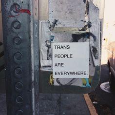 A Trans Blog