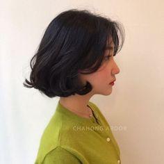 Japanese Short Hair, Korean Short Hair, Hair Inspo, Hair Inspiration, Medium Hair Styles, Short Hair Styles, Bob Styles, Cute Hairstyles, Hair Goals