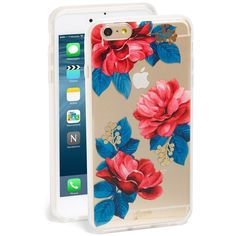 Sonix 'Holly' iPhone 6 Plus & 6s Plus Case (€33) ❤ liked on Polyvore featuring accessories, tech accessories and clear