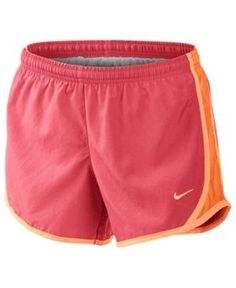 Nike Tempo Mesh-Panel Shorts, Big Girls (7-16) - Orange XL
