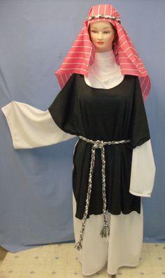 Biblical Costume Robe Martha Christmas Shepherd Nativity Woman's XXX-Lg (7183)