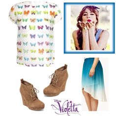 Violetta- karaoke by stylewiktoria on Polyvore featuring mode, Zara, Forever 21, Jessica Simpson, Consigli, women's clothing, women's fashion, women, female and woman