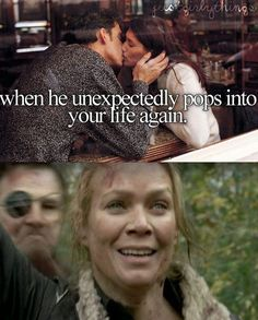 "46 Things You'll Only Find Funny If You Watch ""The Walking Dead"" - BuzzFeed Mobile. I find this extremely funny because she's just like Rick, hey!  Hey, Rick! And the Govner just comes up behind like NONONO, NOT TODAY. This scene was so frustrating...if she just would have taken a few steps forward. Dammit Andrea!"
