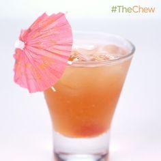 Clinton Kelly's Quick and Easy Mai Tai! #TheChew #MaiTai