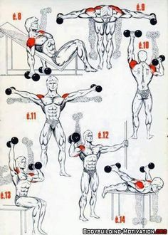 Shoulders. I'm pinning this for that little move in the bottom right corner....I'm very curious.... more motivation @ https://www.facebook.com/actionalways