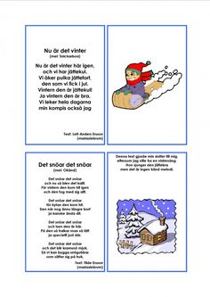 Mariaslekrum - Illustrerade sånger. Learn Swedish, Swedish Language, Crafts For Kids, Singing, Education, Learning, Musik, Crafts For Children, Kids Arts And Crafts