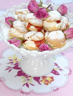 Plum Puffs for an Anne of Green Gables Tea - Pink Piccadilly Pastries
