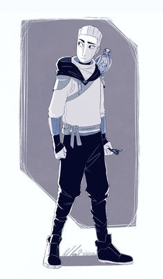 """""""Day 1 - Ninja """" I'm gonna try and do this challenge! And first up is Zane (and Falcon) with urban ninja style clothing :D Kids Shows, Lego Movie, Character Development, Lego Ninjago, Legos, Art Reference, Tumblr, Cool Art, Character Design"""