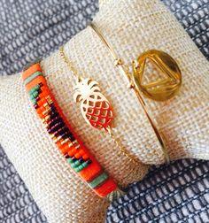 ZAG bijoux s'agrandit toujours et encore chez Comci Comca et suit la tendance ! L'ananas !