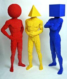 Nathan Sawaya lego sculptor