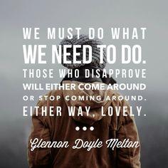 Love Glennon!!! ♡ :0)