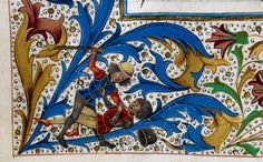 It's one of these days ... and it is only monday @BLMedieval Royal 15 E IV f. 257v