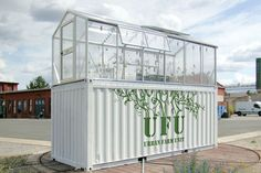 40 ft container grow room hydroponic grow shipping container greenhouse urban farm unit by damien chivialle shipping container buildings containers shops hydroponics grow room