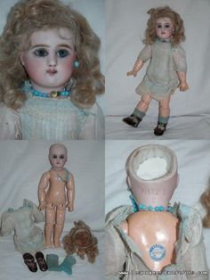 Les Poupees D'autrefois - WONDERFUL BEBE JULLIEN DOLL MARKED JULLIEN 2 IN PERFECT ORIGINAL CONDITION A DOLL FOR MUSEUM