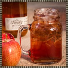 SMOKY MOUNTAIN APPLE #Recipe  Mix 1 part Ole Smoky Original Moonshine with 3 parts Ole Smoky #ApplePie Moonshine and #cranberry juice.