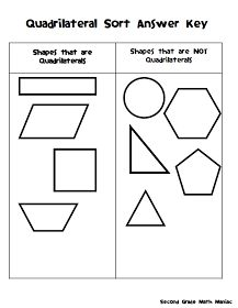 Quadrilateral Sort Freebie:      Today we reviewed two important vocabulary terms that will be on our assessment on Thursday, Quadrilater...