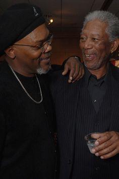 Samuel L Jackson and Morgan Freeman