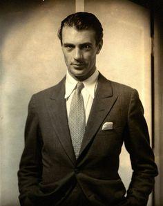 Gary Cooper...  1930... Edward Steichen