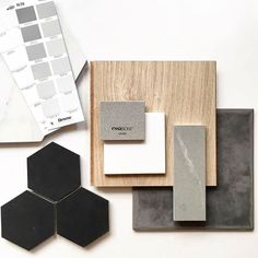 Love bringing back the warmth of lighter wood. Mood Board Interior, Interior Design Boards, Moodboard Interior Design, Estilo Interior, Interior Design Presentation, Material Board, Tips & Tricks, Concept Board, Colour Board