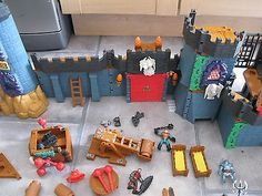 Huge Imaginext Battle Castle with Goblin Dungeon by Fisher Price ...