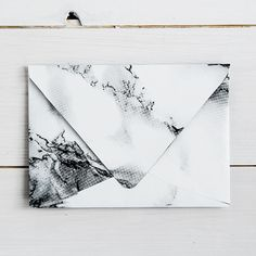 Pinterest: Silvana van Bellen  How to Make Marbled Contact Paper Envelopes
