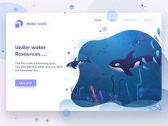 underwater by Sudhan Gowtham - Dribbble