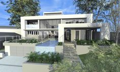 Advice, tactics, as well as quick guide in the interest of receiving the best end result and attaining the optimum use of home renovation on a budget 3d Design, House Design, Atrium House, Australian Architecture, Architect Design, Home Renovation, Home Improvement, New Homes, Mansions