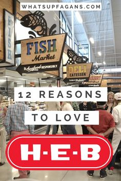 These really are great reasons to LOVE HEB grocery stores.
