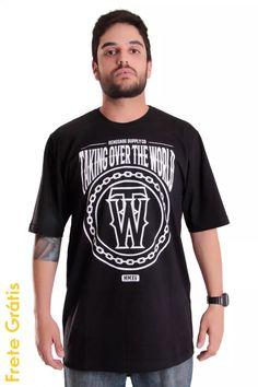 Camiseta Takign Over Renegade X California Store Hip Hop - R$ 59,00 em Mercado Livre