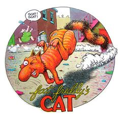 Fat Freddy's Cat by Gilbert Shelton