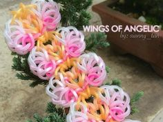 This is a hooked design. No loom needed.    *Zuzu*   WINGS OF ANGELIC Hook Only bracelet design