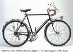 A 1951 Rene Herse Randonneuring Bike