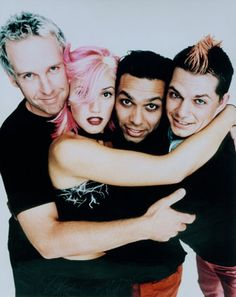 No Doubt - One of first bands that I got into back in my tween years that I still love with all my heart.
