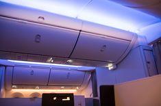 Etihad Boeing 787-9 Business Class. Stimmungsvolle Beleuchtung #businessclass #airbus #boeing #economyclass #firstclass #etihad #travel #review #food #boeing787 #dreamliner #moodlight