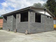 Esta casa, foi construída com tijolos de plástico reciclado em apenas 5 dias | ArchDaily Brasil