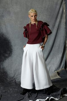 Fashion and Style Inspiration and Tips about how to find strength through style. Fashion can be powerful and we can help you find your voice through your style choices. All White, Your Style, Style Inspiration, Pants, Fashion, Ruta Graveolens, Moda, Trousers, Fashion Styles