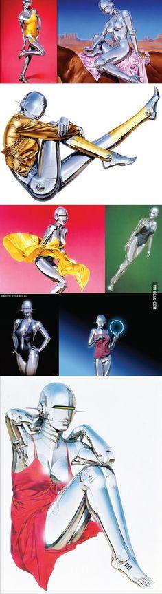 Hajime Sorayama - The man who put the curves to robots