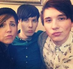 hannah hart ✧ my drunk kitchen ✧ myharto & phil lester ✧ amazingphil & dan howell ✧ danisnotonfire