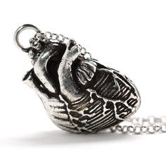 Anatomical Heart Necklace, $32, now featured on Fab.
