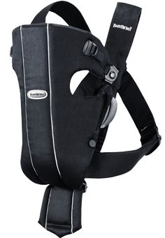 Baby Carrier Original • Black • Cotton