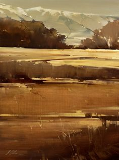 "2007, Wellsville Range by Joseph Alleman Oil ~ 24"" x 18"""