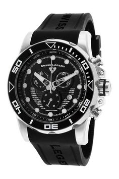 Men's Avalanche Casual Silicone Watch by SWI Group on @HauteLook