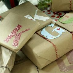 Gift Wrap – Creative Gift Wrapping Ideas