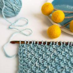 Tunisian Moss Stitch and more free patterns